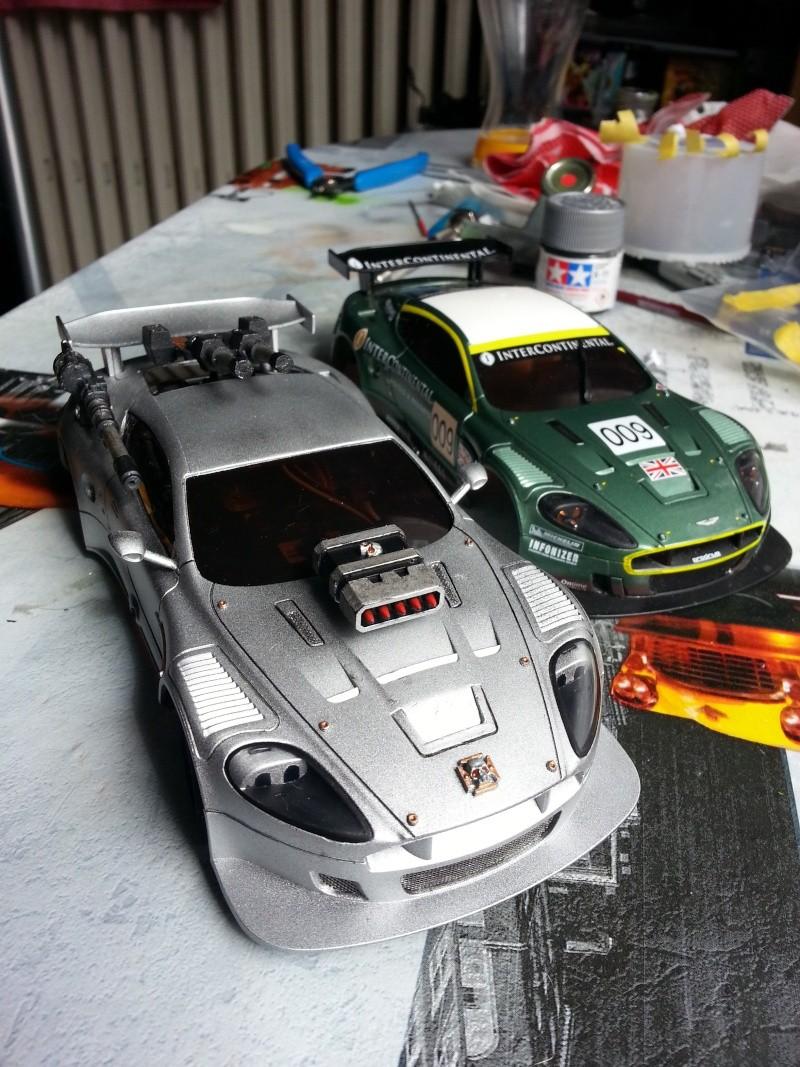 "Aston Martin DB9 façon ""Mad Max"" 20140411"
