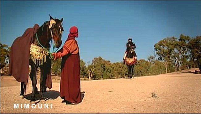 Les dernieres minutes de la vie de Kahena la Dihya Amazigh Mimoun11