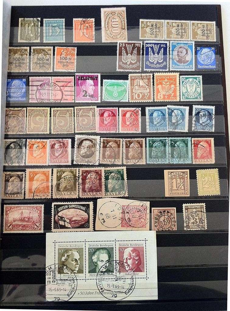 Kleine Sammlung deutscher Briefmarken abzugeben Img_1611