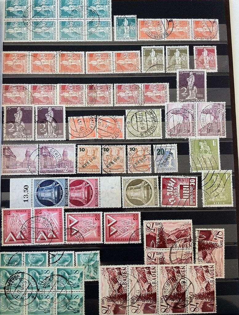 Kleine Sammlung deutscher Briefmarken abzugeben Img_1613