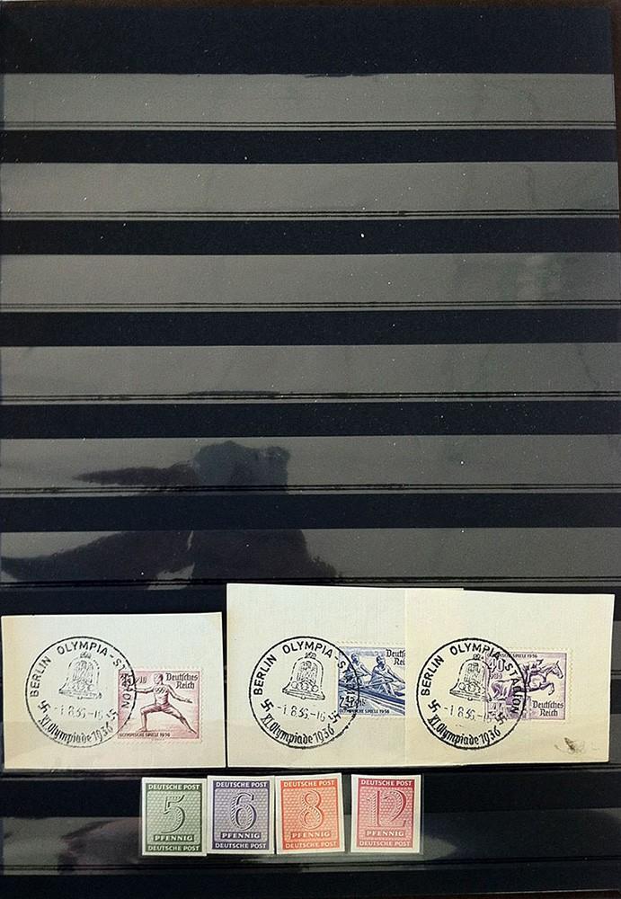 Kleine Sammlung deutscher Briefmarken abzugeben Img_1615