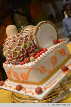 Top 12 Beautiful Nigerian Traditional Wedding Cakes 3651d510