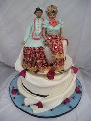 Top 12 Beautiful Nigerian Traditional Wedding Cakes Images11