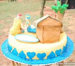 Top 12 Beautiful Nigerian Traditional Wedding Cakes Images18
