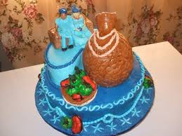 Top 12 Beautiful Nigerian Traditional Wedding Cakes Images19