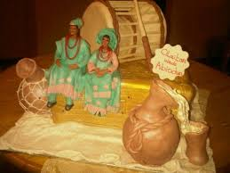 Top 12 Beautiful Nigerian Traditional Wedding Cakes Images20