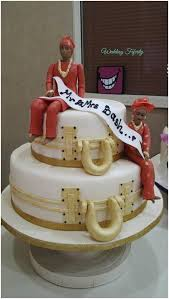 Top 12 Beautiful Nigerian Traditional Wedding Cakes Images24