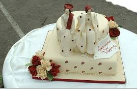 Top 12 Beautiful Nigerian Traditional Wedding Cakes Images27