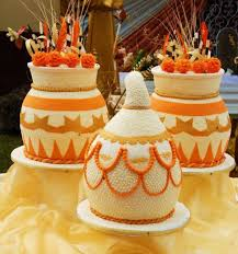 Top 12 Beautiful Nigerian Traditional Wedding Cakes Images29