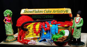 Top 12 Beautiful Nigerian Traditional Wedding Cakes Images30