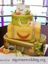 Top 12 Beautiful Nigerian Traditional Wedding Cakes Images32