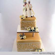 Top 12 Beautiful Nigerian Traditional Wedding Cakes Images33