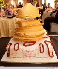 Top 12 Beautiful Nigerian Traditional Wedding Cakes Images34