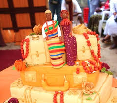 Top 12 Beautiful Nigerian Traditional Wedding Cakes Images36