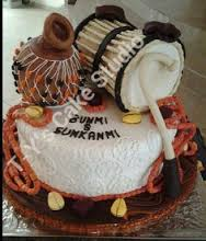Top 12 Beautiful Nigerian Traditional Wedding Cakes Images37