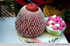 Top 12 Beautiful Nigerian Traditional Wedding Cakes Images40