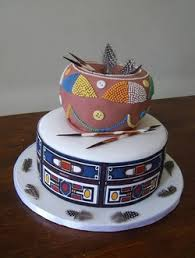 Top 12 Beautiful Nigerian Traditional Wedding Cakes Images46