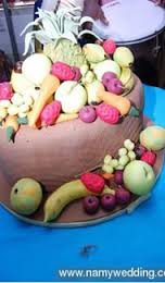 Top 12 Beautiful Nigerian Traditional Wedding Cakes Images47