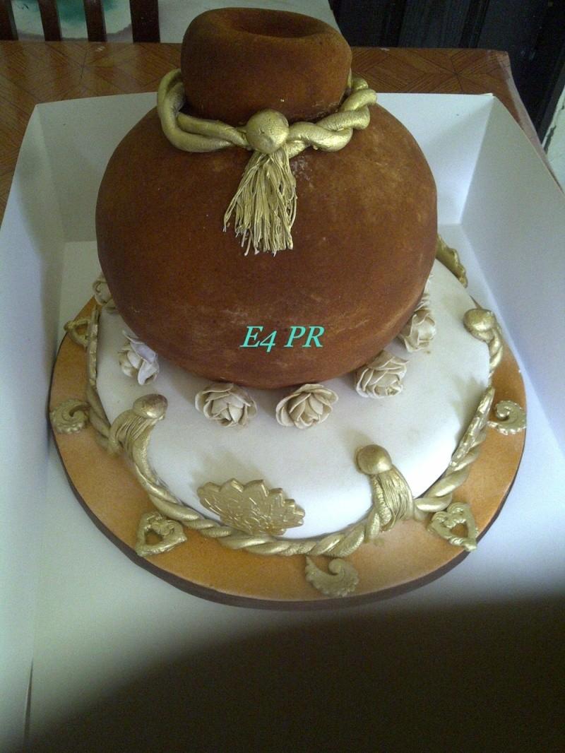 Top 12 Beautiful Nigerian Traditional Wedding Cakes Neneca11