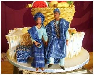 Top 12 Beautiful Nigerian Traditional Wedding Cakes Nigeri11