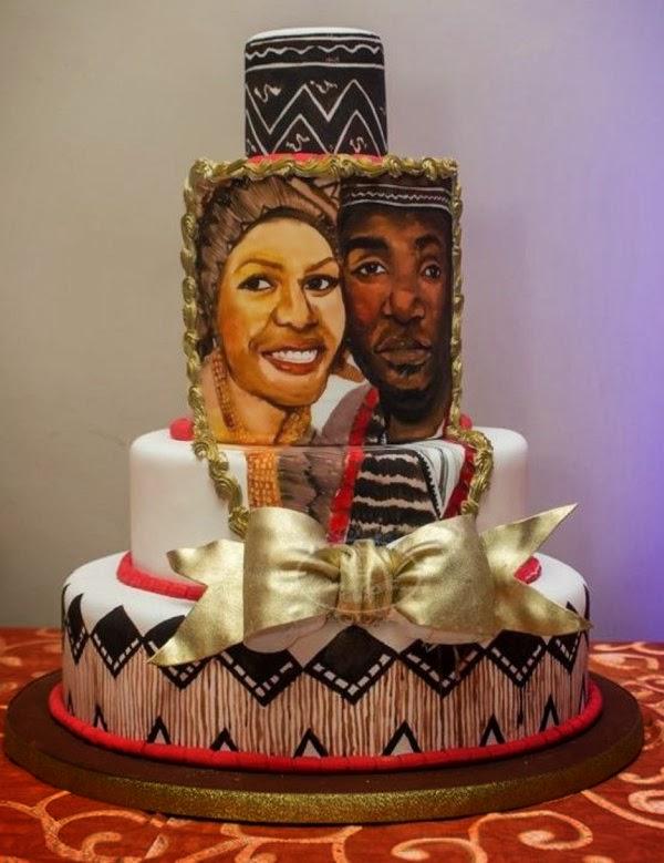 Top 12 Beautiful Nigerian Traditional Wedding Cakes Tradti10