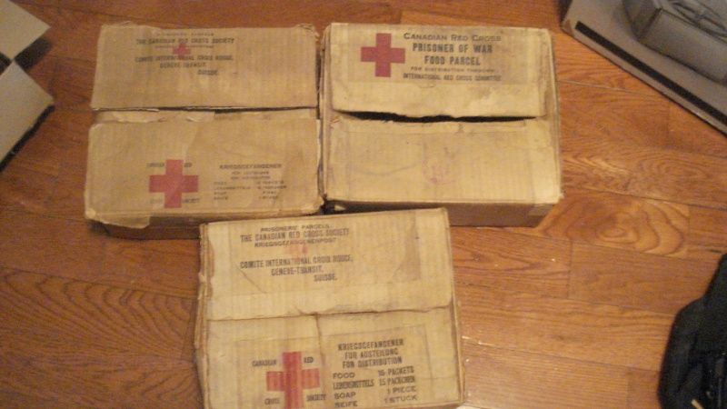 3 WW2 Canadian Red Cross POW Boxes Ins1_010
