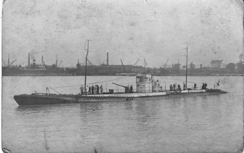 Identification d'un sous-marin Sous-m11