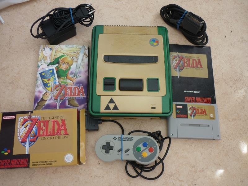 Super Nintendo customisée Zelda P1070113