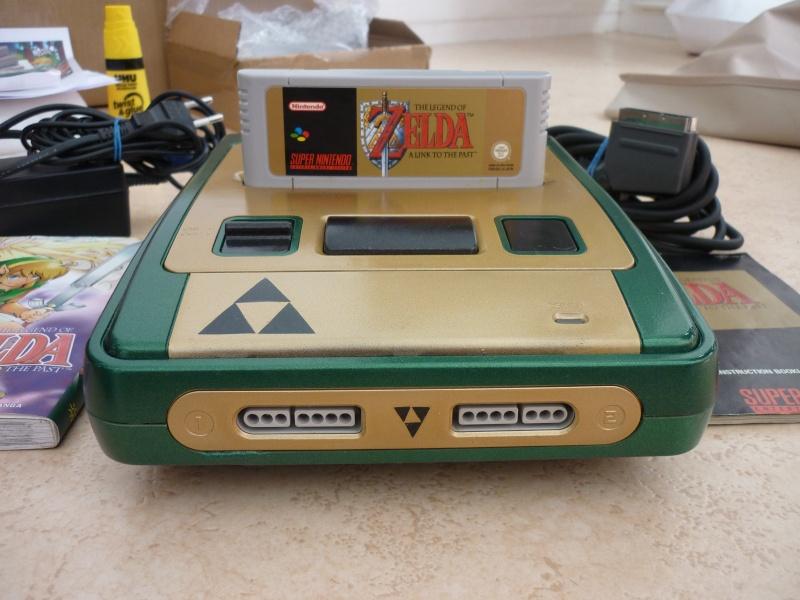 Super Nintendo customisée Zelda P1070114