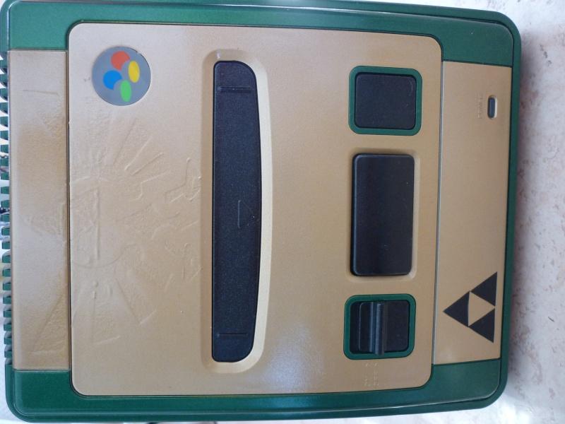 Super Nintendo customisée Zelda P1070115