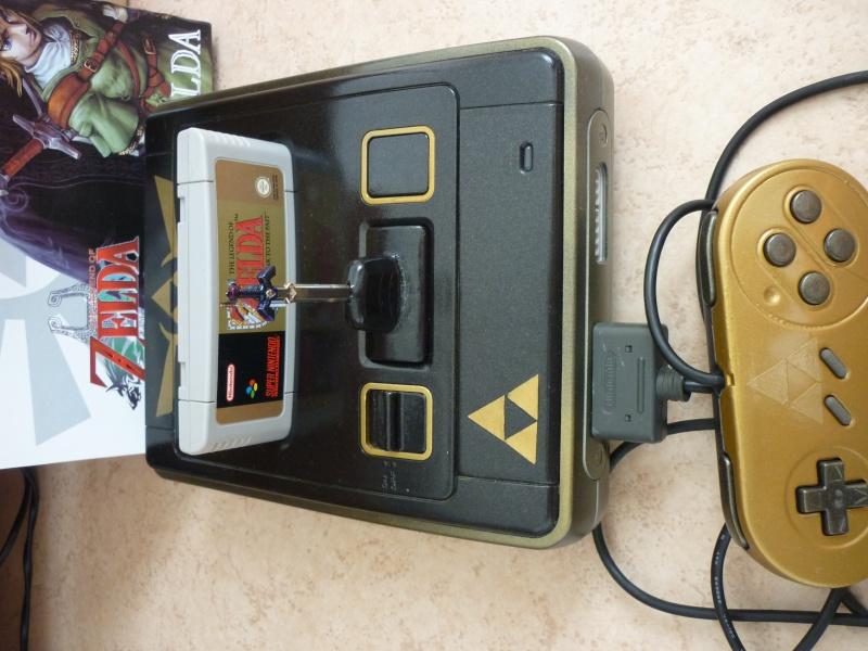 Super Nintendo customisée Zelda P1070213