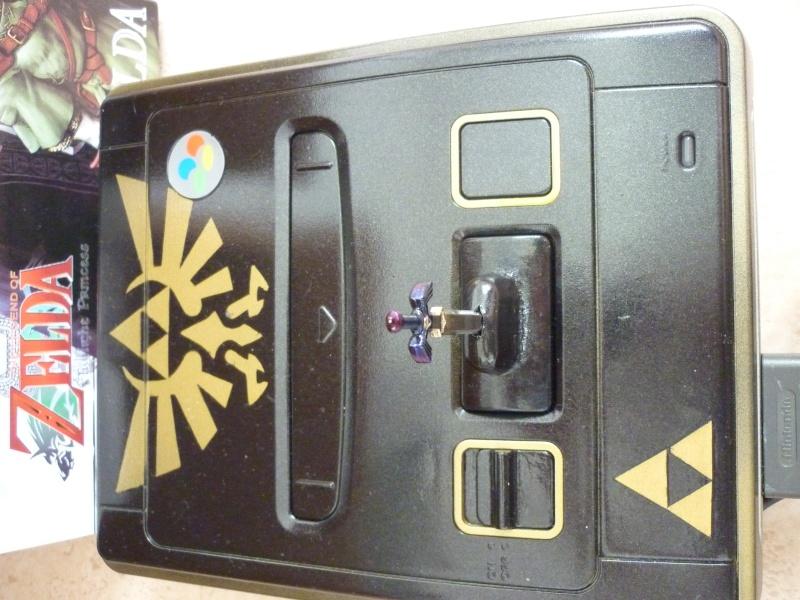 Super Nintendo customisée Zelda P1070214