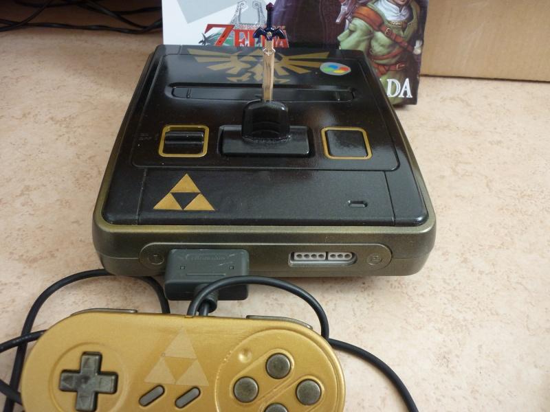 Super Nintendo customisée Zelda P1070215