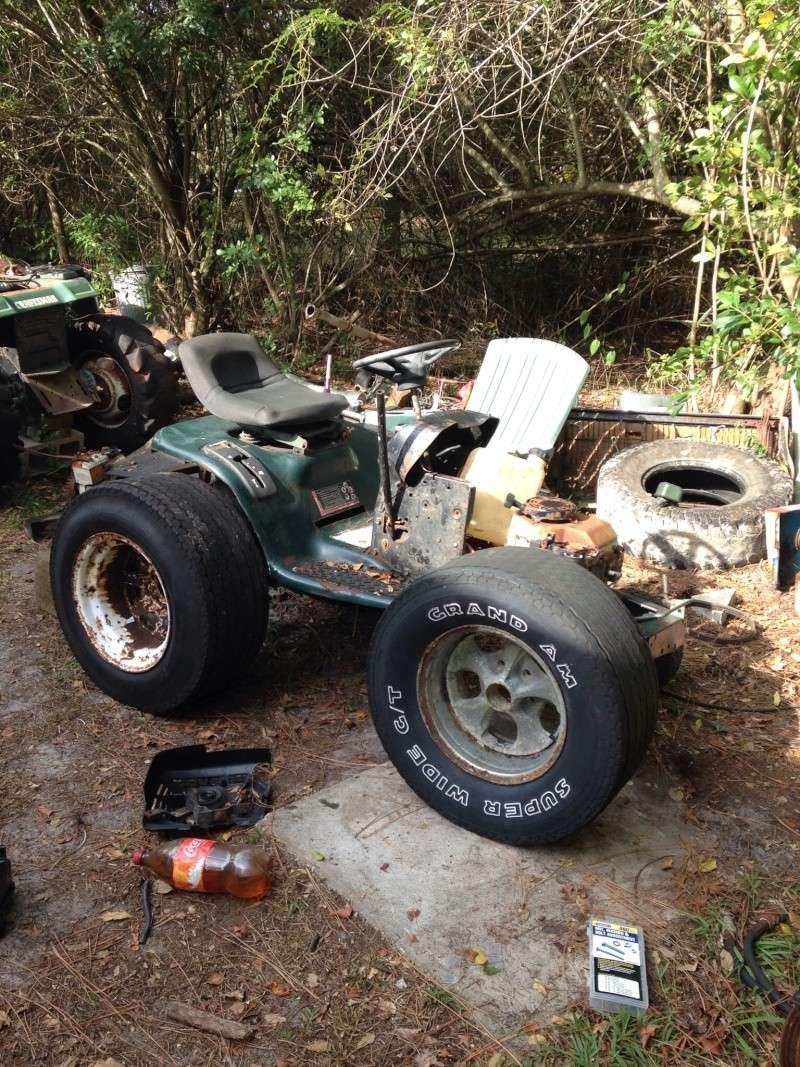 """Craftsman lt1000 mud mower build """"Joey"""" Image21"""