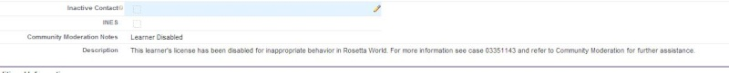 """Automatically Signed off after """"Launch Rosetta Stone"""" (Disabled account) Disabl12"""