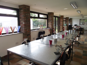 Classes en Angleterre - Tuffnell Glass Studio Studio10