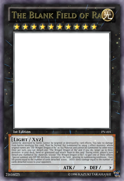 How to create a card using yugiohcardmaker. Blank_10