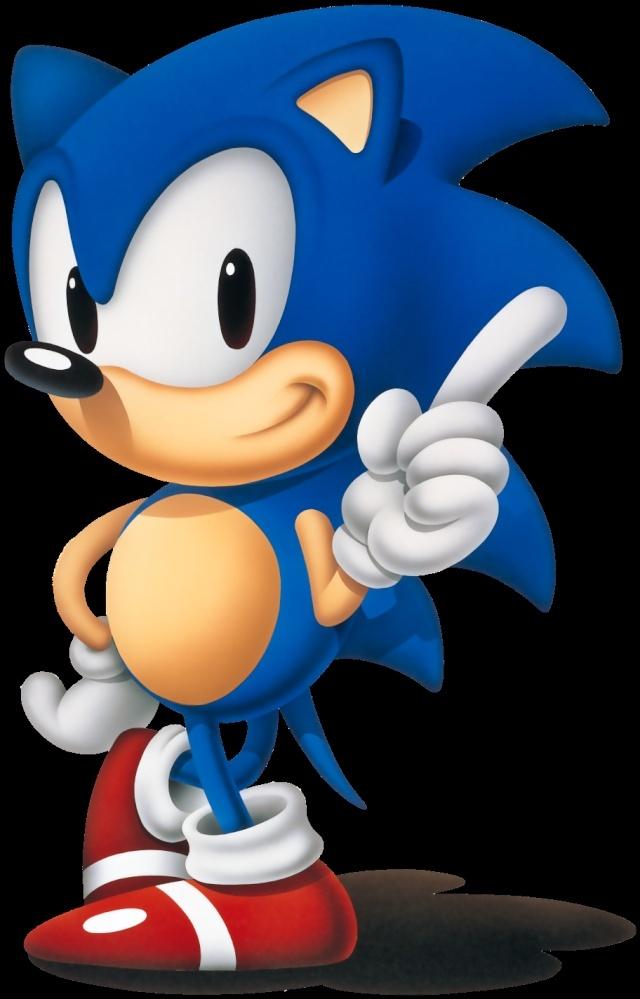 Vos 4 personnages de JV préférés Sonic_10