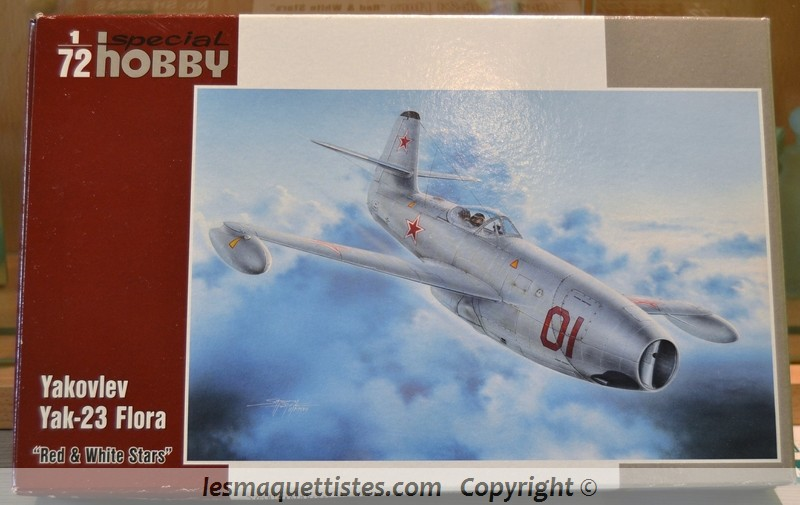 YAK 23 Flora 1/72    Special Hobby 001_8021