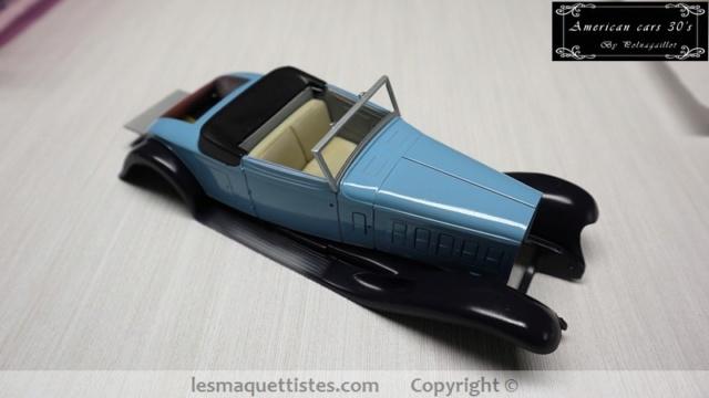 Cadillac cabriolet V16 Fleetwood. 1931  Jo-Han  1/24 - Page 5 001_8051