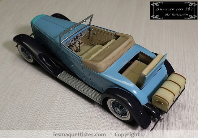Cadillac cabriolet V16 Fleetwood. 1931  Jo-Han  1/24 - Page 8 002_8055