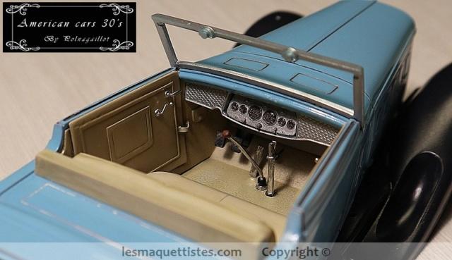 Cadillac cabriolet V16 Fleetwood. 1931  Jo-Han  1/24 - Page 7 003_8050