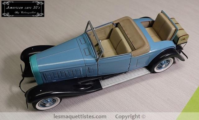 Cadillac cabriolet V16 Fleetwood. 1931  Jo-Han  1/24 - Page 8 003_8051