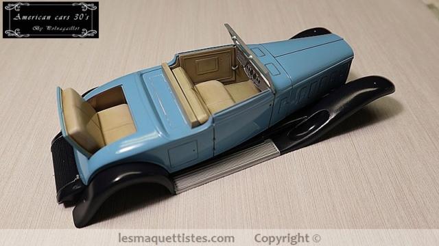 Cadillac cabriolet V16 Fleetwood. 1931  Jo-Han  1/24 - Page 6 004_8047