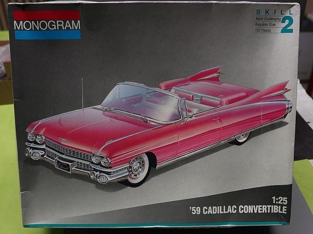 Défi peinture: Cadillac 59'   Monogram 1/25 004_8066