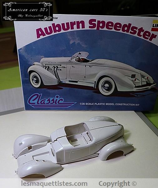 Auburn Speedster 851 de 1935........ Lindberg  1/25 007_8036