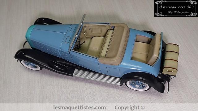 Cadillac cabriolet V16 Fleetwood. 1931  Jo-Han  1/24 - Page 8 007_8037