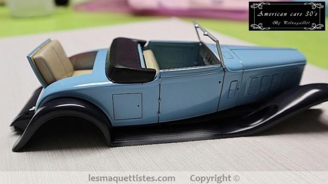 Cadillac cabriolet V16 Fleetwood. 1931  Jo-Han  1/24 - Page 5 010_8027
