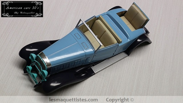 Cadillac cabriolet V16 Fleetwood. 1931  Jo-Han  1/24 - Page 6 012_8031