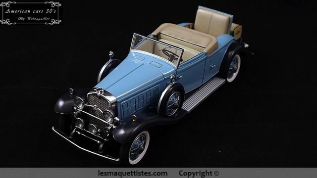 Cadillac cabriolet V16 Fleetwood. 1931  Jo-Han  1/24 - Page 11 015_8028